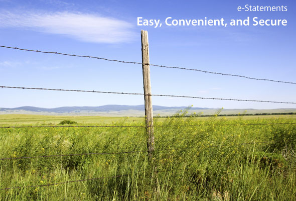 E-Statements – Easy, Convenient, and Secure